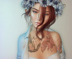 ♥ (Popcorn Adalynn Bloom) Tags: sweetthing foxcity sintiklia lunar speakeasy lelutka glamaffair aviglam portrait lode korina elf pixie freckles reign blackdragonviewer