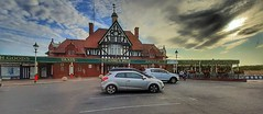 Fish an chips.. (Mike-Lee) Tags: stannespier stannes fishchips seafront lancashire july2019 mikejill