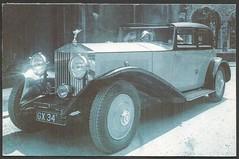 Rolls Royce 1920's (tico_manudo) Tags: rollsroyce cars irispublishingltd hultonpictureco thenostalgiapostcard greatbritain unitedkingdom