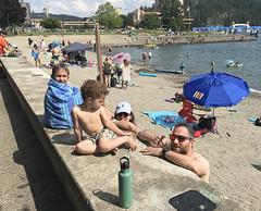 Coeur d'Alene, Idaho - 2019 (tonopah06) Tags: ariel beach alex luca id coeur idaho ezra cda dalene iphone 2019