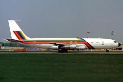 Arkia Boeing 707-321B 4X-ATF ex Ecuatoriana HC-BFC (gooneybird29) Tags: flugzeug flughafen aircraft airport airplane airline muc riem arkia boeing 707 4xatf ecuatoriana hcbfc