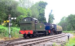 DFR Double. (curly42) Tags: dfr 5541 prairietank wd152 saddletank railway steam preservedsteamloco deanforestrailway middleforgejunction