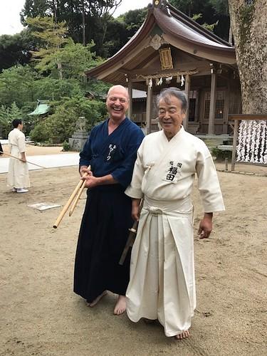 WIth Fukuda Sensei