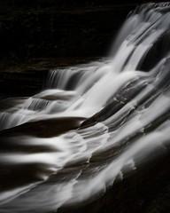 Blurry water (Zach_Beauvais) Tags: fingerlakes upstate newyork ithaca nikond7500 nikon longexposure waterfalls waterfall statepark roberttreman