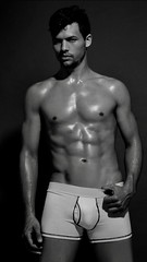 Fitness (Ignacio_Echenique2012) Tags: artwork art nude latino sexy guy boy fitness fit body underwear bnw bn blackandwithe muscle topmodel top model modelo