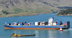 JPO VOLANS Container Ship. (Bernard Spragg) Tags: jpovolans container ship marinecontainershipmarine ships vessels tugboat lumix nautical harbour
