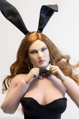 ZY Toys ZY15-28 Bunny Outfit (edwicks_toybox) Tags: 16scale fighterwoman tbleague bunny bunnyears femaleactionfigure highheels phicen seamlessbody stockings zytoys
