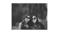 (WOGO*) Tags: aero ektar 178mm graflex super d polaroid 665 instant film portrait bw bokeh