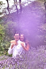 It has always been you💕 (cristibelfig) Tags: portrait photoshoot canon flares purple perfect friends ring couple savethedate husband wife engagement wedding love people nature garden field lavanda