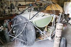 N33350 - 1946 build Callair A-2, under restoration at private location near Chena Marina, Alaska (egcc) Tags: 6 a2 ak28 alaska anderson butterfield callair callaira2 chenamarina fairbanks lightroom n33350 nc33350