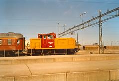 NSB Di 5 870 (Stig Baumeyer) Tags: nsb norgesstatsbaner diesellocomotive diesel diesellokomotiv diesellok diesellokomotive trondheim di5 nsbdi5 db dbv60 v60 deutschebundesbahn skiftelokomotiv rangierlokomotive switcher shunter mak
