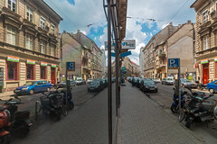 Erzsebetvaros (Behind Budapest) Tags: 2019 365project 70d budapest canon erzsebetvaros hungary magyarorszag city outdoor outside reflection spiegelung streetphotography town tukrozodes urban