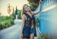 Mara (Vagelis Pikoulas) Tags: portrait woman women girl girls beautiful beauty bokeh summer august 2019 porto germeno greece photography photoshoot canon 6d sigma art 85mm f14 model