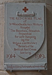 Wigan WW1 Red Cross VAD Hospitals (lower_incer) Tags: redcross auxiliarymilitaryhospital vad voluntaryaiddetachment wigan woodlandsiii standish