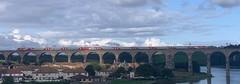 LNER 91126/822XX (08/08/2019) (CYule Buses) Tags: lner class91 intercity225 londonnortheasternrailway 91126 class82 eastcoastmainline royalborderbridge