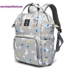 baby diaper bag for traveling unicorn gray (Shopmotherly) Tags: baby diaper bag for traveling unicorn gray