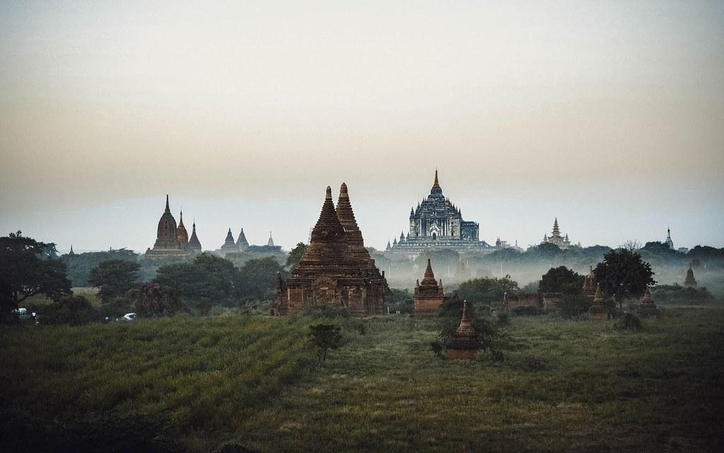 Mờ ảo Bagan