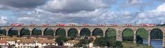 LNER 91114 Durham Cathedral /822XX (08/08/2019) (CYule Buses) Tags: 91114 durhamcathedral lner londonnortheasternrailway eastcoastmainline class91 royalborderbridge class82