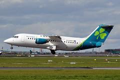 EI-RJD  Bae146-RJ85  Aer Lingus (n707pm) Tags: ireland airplane airport aircraft airline shamrock dub ein aerlingus ei avro dublinairport bae146 rj85 eidw stmaccullin eirjd cne2334 coliinstown