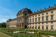Würzburger Residenz (daniel.streit) Tags: würzburg bayern deutschland residenz residenzgarten