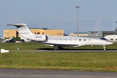N650GD Gulfstream 650(ER) (n707pm) Tags: n650gd gulfy gulfstream gvi g650er airport airplane aircraft bizjet corporate executive einn snn coclare ireland 11052019 cn6361 shannonairport rineanna