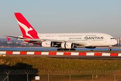 Qantas Airbus A380-841 VH-OQL (Mark Harris photography) Tags: qantas qf airbus a380 sydney canon 5d aviation plane
