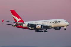 Qantas Airbus A380-841 VH-OQF (Mark Harris photography) Tags: qantas qf airbus a380 sydney canon 5d aviation plane