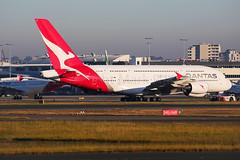 Qantas Airbus A380-841 VH-OQJ (Mark Harris photography) Tags: qantas qf airbus a380 sydney canon 5d aviation plane