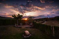 La tinaja (atvjavi) Tags: atvjavi latinaja irix irix15mm atardecer sunset solsun zaragoza aragon santaeulaliadegallego casacoronazo