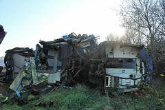 Ahoghill, 26/02/2019 (Milepost98) Tags: ni northern ireland irish scrap scrapyard breakers yard ahoghill nir railway railways translink train vehicle railcar brel demu thumper 4srkt 80 class 450 455 8455 94 8094 89 8089 withdrawn derelict scrapped
