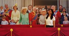 Goodness me! (Les Fisher) Tags: justforfun balcony royalfamily flypast makemesmile