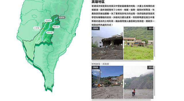 八八風災專題大綱:與土石流共生的台灣