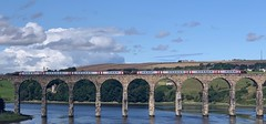 Cross Country Trains Double Class 220 (08/08/2019) (CYule Buses) Tags: crosscountrytrains voyager eastcoastmainline class220 royalborderbridge