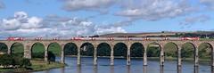 LNER 91124/82XXX (08/08/2019) (CYule Buses) Tags: 91124 lner class91 intercity225 londonnortheasternrailway class82 eastcoastmainline royalborderbridge