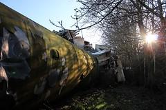 Ahoghill, 26/02/2019 (Milepost98) Tags: ni northern ireland irish scrap scrapyard breakers yard ahoghill nir railway railways translink train vehicle railcar brel demu thumper 4srkt 80 class 94 8094 withdrawn derelict scrapped