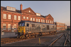 73969 (saltley1212) Tags: caledonian sleeper class73 739 73969 eastleigh works southern