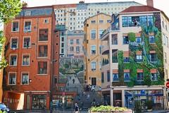 Mur des Canuts, Lyon, France (fred'eau) Tags: mur des canuts lyon france