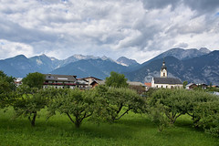 Obstgarten - Oberperfuss, Tirol (Ernst_P.) Tags: tirol österreich pflanze kirche baum aut obstbaum obstgarten oberperfuss sigma f40 24105mm