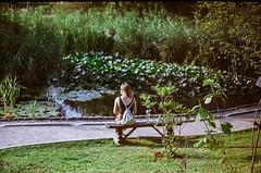 Lost (Lentejas Puag) Tags: 35mm film filmisnotdead fed5c analog russiancamera analoguevibes garden nature botanic plants green