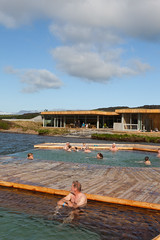 Vök Baths, a new development of geothermal baths in Iceland, opened 27 July 2019 on the shores of Lake Urriðavatn, near the city of Egilsstaðir in East Iceland. This region has no other geothermal baths so the creation of Vök Baths on the site of natural (Anna Watson) Tags: vökbaths new lake nature swimming swim landscape hotwater iceland natural outdoor pools hottub bathe bathing float shores development touristattraction hotsprings springwater lakewater purity egilsstaðir easticeland designgroupitalia woodenwalkways geothermalbaths basaltarchitects lakeurriðavatn wood ecology pool relax healthy relaxing floating clean swimmingpool environment walkways relaxation hotspring pure spa floats sustainable ecological renewableenergy environmentallyfriendly renewables geothermalenergy turfroof geothermalheat swimmngpools vokbaths