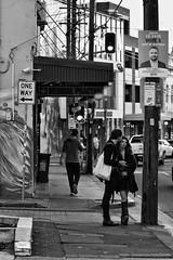 one way (gro57074@bigpond.net.au) Tags: unlimitedphotos oneway micronikkor105mmf28gifed f63 nikkor d850 nikon june2019 sydney newtown guyclift monochromatic monochrome monotone mono bw blackwhite pbwa stphotographia streetphotography
