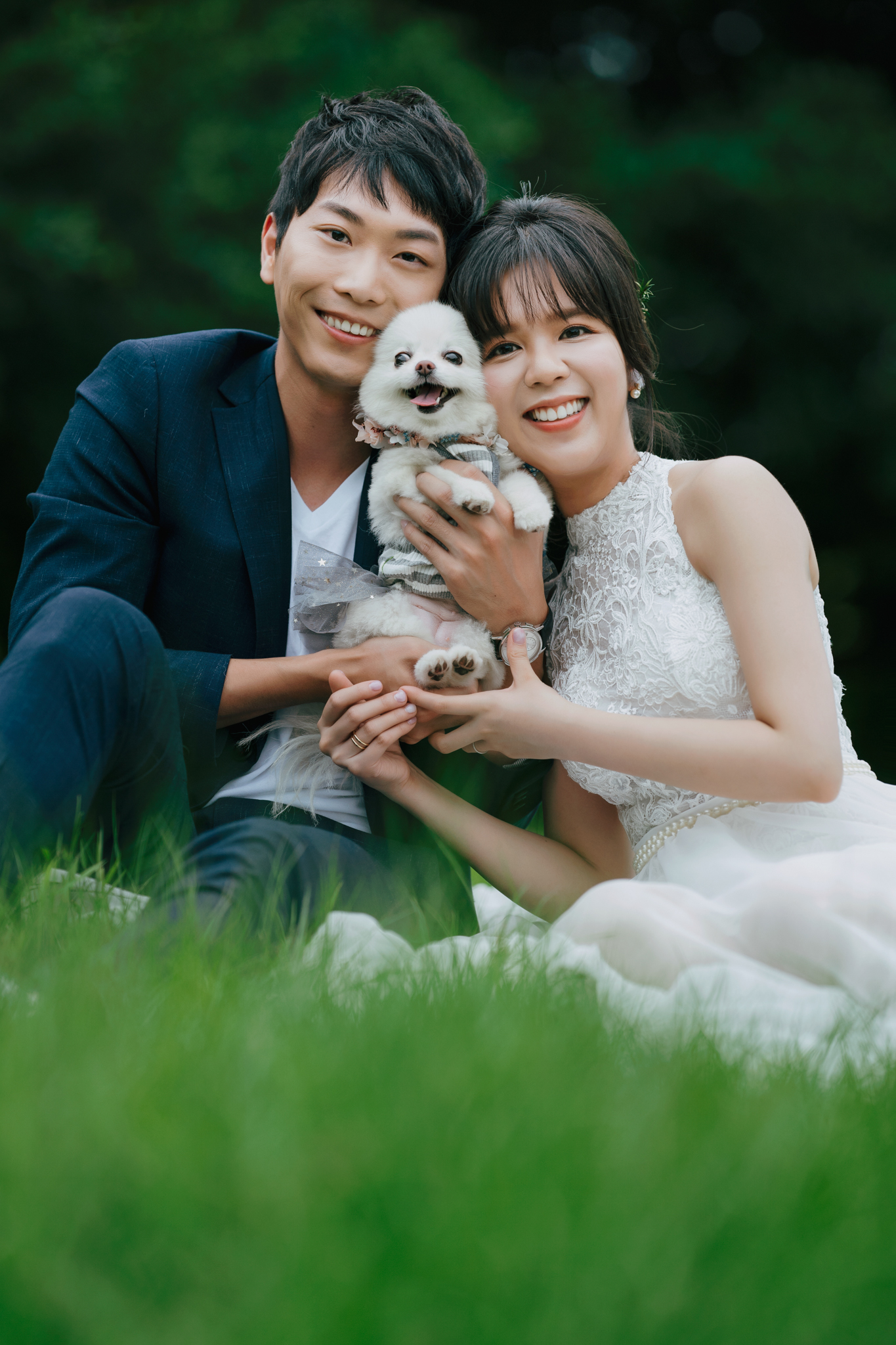 EW, 自助婚紗, 台北婚紗, Donfer, 東法婚紗, 自然風格婚紗影像, 寵物婚紗