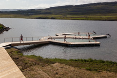 Vök Baths, a new development of geothermal baths in Iceland, opened 27 July 2019 on the shores of Lake Urriðavatn, near the city of Egilsstaðir in East Iceland. This region has no other geothermal baths so the creation of Vök Baths on the site of natural (Anna Watson) Tags: new iceland shores development egilsstaðir geothermalbaths vökbaths lakeurriðavatn wood lake nature ecology swimming swim relax landscape hotwater healthy natural outdoor relaxing clean pools hottub bathe environment walkways bathing float relaxation pure spa touristattraction hotsprings ecological springwater lakewater purity easticeland designgroupitalia woodenwalkways basaltarchitects vokbaths pool divers dive floating diving swimmingpool hotspring floats sustainable renewableenergy environmentallyfriendly renewables geothermalenergy turfroof geothermalheat swimmngpools