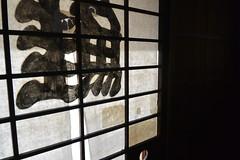 traditional Japanese door (Hayashina) Tags: japan murakami traditional door sliding paper salmon letter