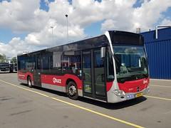 NLD Qbuzz 3031 ● Groningen Peizerweg (Roderik-D) Tags: qbuzz30303033 3031 groningengaragepeizerweg mercedesbenz citaro3 citaroc2 31bjv1 isri 2017 citybus euro6 2axle 2doors o530 3axle ivu gorba solobus