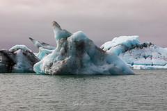 Icebergs (Kjartan Guðmundur) Tags: iceland ísland glacierlagoon iceberg lagoon frozen sky ngc arctic kjartanguðmundur canoneos5dmarkiv canonef100400mmf4556lisiiusm