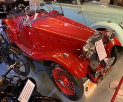 Singer Le Mans (mistdog) Tags: singer lemans 1935 car convertible prewar motormuseum museum vintage photoscapex