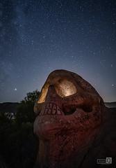 Dolor (JoseQ.) Tags: calavera dolor horror luces noche buendia oscuridad estrellas nocturna