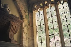 (a.pierre4840) Tags: olympus izm330 38105mm f456 35mmfilm fujifilm fujic200 colourfilm colorfilm window statue church wiltshire england perspective ambientlight atmospheric