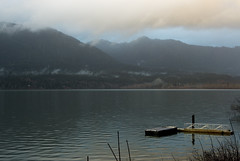 051228 Lake Quinault-01.jpg (Bruce Batten) Tags: atmosphericphenomena cloudssky fog lakequinault lakesponds lighthouses locations occasions reflections subjects trips usa vacations washington